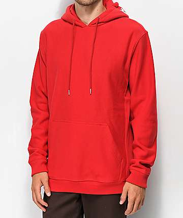 DC Skate Pullover Red Hoodie