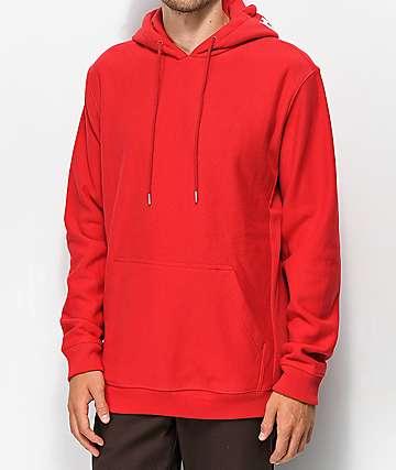 DC Skate sudadera con capucha roja