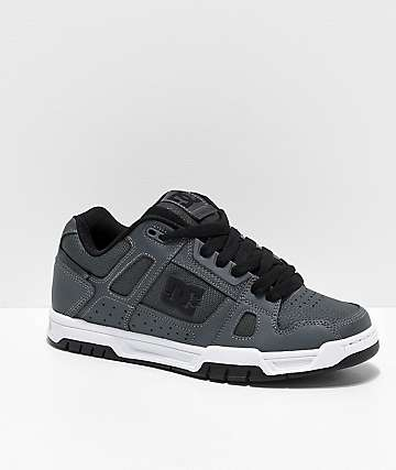 DC Stag Dark Grey Skate Shoes