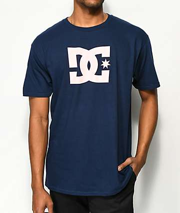DC Star Navy & Pink T-Shirt