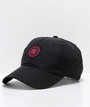 DC Star Poppy Black Strapback Hat