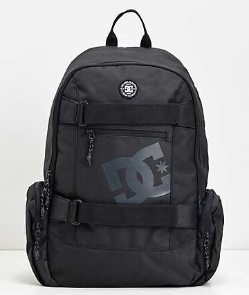 DC The Breed mochila negra mediana