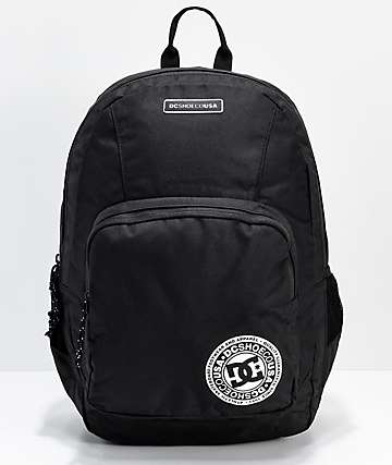 DC The Locker Black Backpack