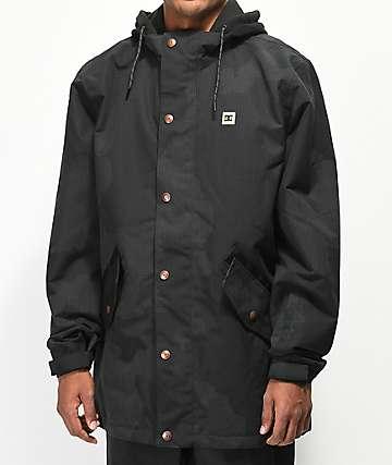 DC Union SE 15K chaqueta de snowboard de camuflaje negro
