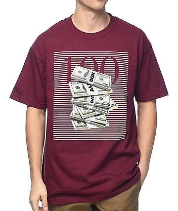 DGK 100 Burgundy T-Shirt