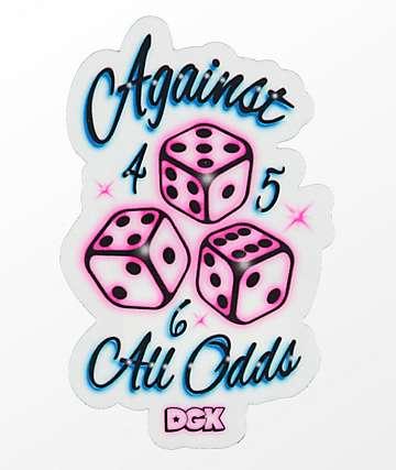 DGK Against All Odds Sticker