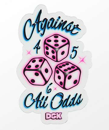 DGK Against All Odds pegatina