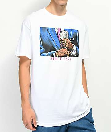 DGK Ain't Easy White T-Shirt