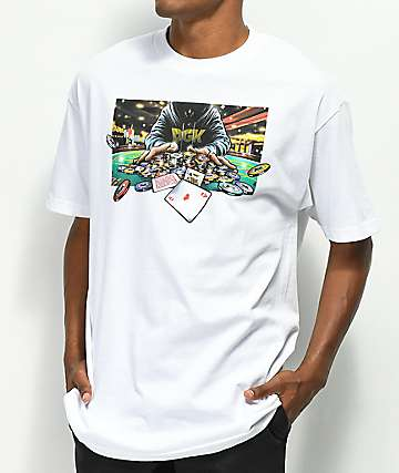 DGK All In White T-Shirt