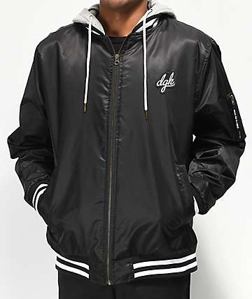 DGK Attack 2Fer Black Jacket