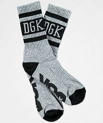 DGK Avenue Grey Crew Socks