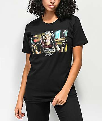 DGK Bad Girl Black T-Shirt