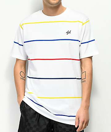 DGK Baseline White Stripe T-Shirt