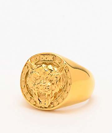 DGK Big Cat Gold Ring