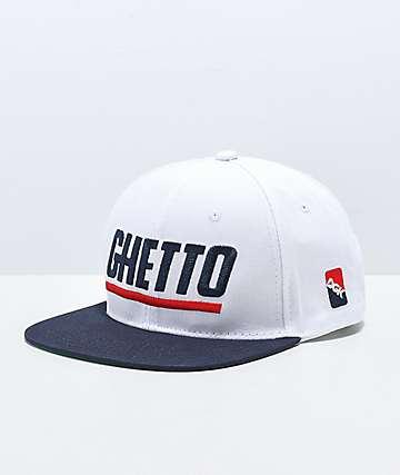 DGK Blaze Ghetto gorra blanca