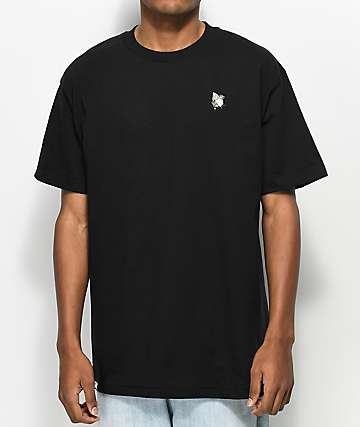 DGK Blessed Embroidery Black T-Shirt