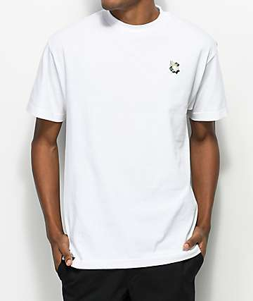 DGK Blessed Embroidery White T-Shirt