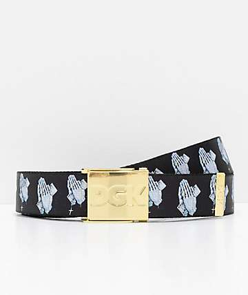 DGK Blessed Scout Black Web Belt