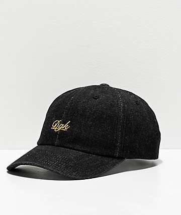 DGK Bliss Black Strapback Hat
