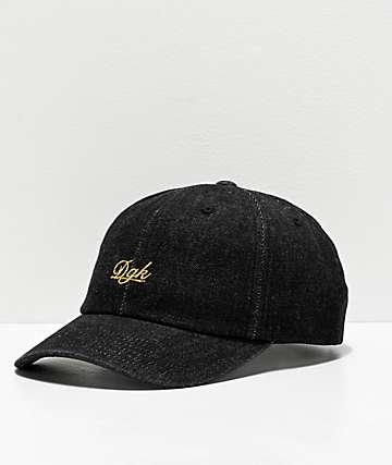 DGK Bliss Black Strapback Hat