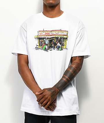 DGK Bodega White T-Shirt