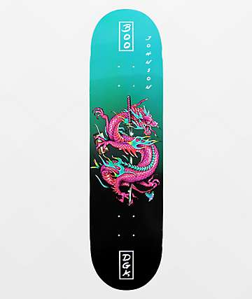 "DGK Boo Get Money 8.25"" Skateboard Deck"