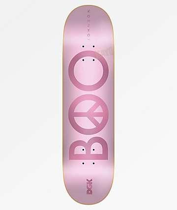 """DGK Boo Peace Pink 8.25"""" Skateboard Deck"""