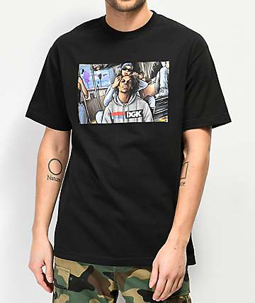 DGK Braided camiseta negra