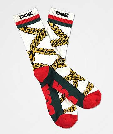 DGK Chains Crew Socks
