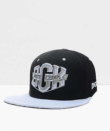 DGK Champs Black Snapback Hat