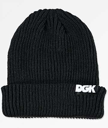 DGK Classic Black Beanie