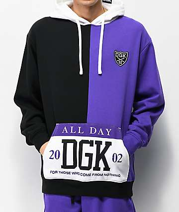 DGK Coliseum Purple, Black & White Hoodie