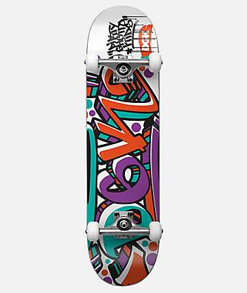 "DGK Crazed 7.75"" Skateboard Complete"