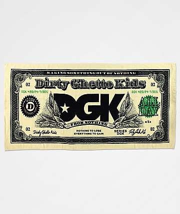 DGK Currency Beach Towel