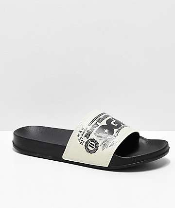 DGK Currency sandalias negras