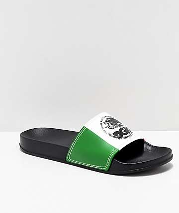 DGK Familia Black Slide Sandals