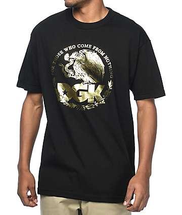 DGK Familia Metallic camiseta negra