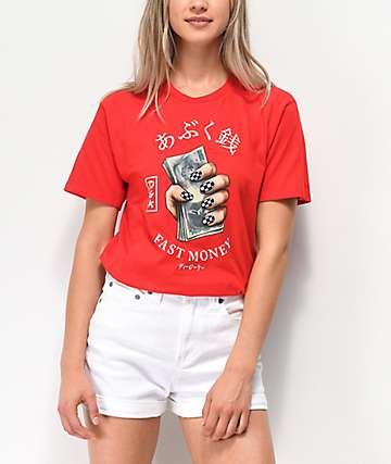 DGK Fast Money Red T-Shirt