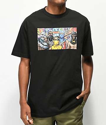 DGK Favela camiseta negra