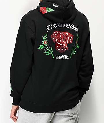 DGK Flawless Black Hoodie