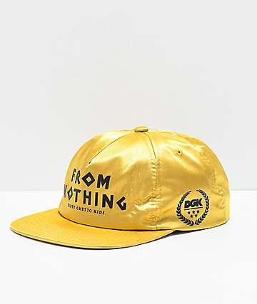 DGK Gambler Gold Snapback Hat