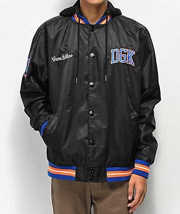 DGK Game Killer Black Varsity Jacket