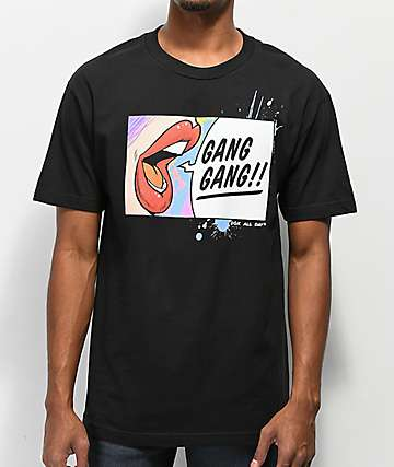 DGK Gang Gang Black T-Shirt