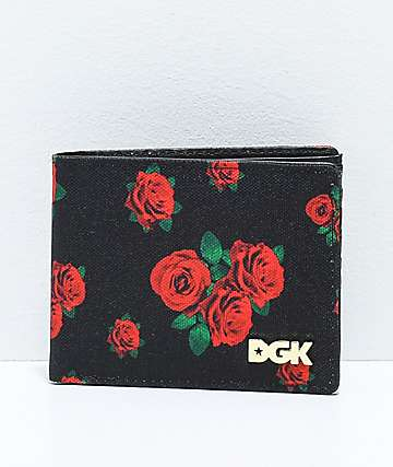 DGK Growth Black Bifold Wallet
