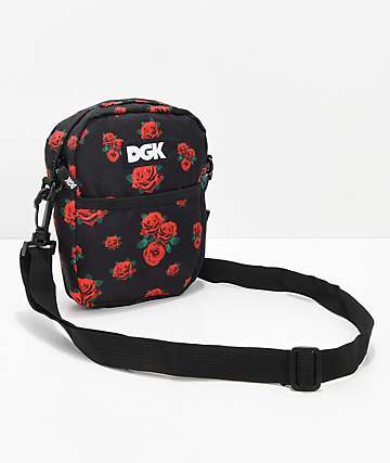 DGK Growth Black Shoulder Bag