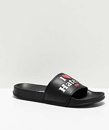 DGK Haters Black Slide Sandals