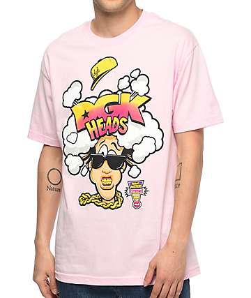 DGK Heads Pink T-Shirt