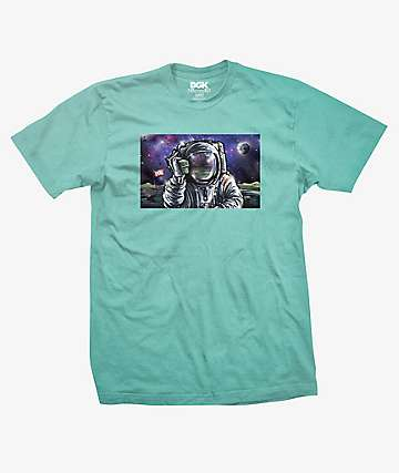 DGK Hello Houston Mint Green T-Shirt