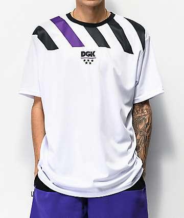 DGK Heritage White Soccer Jersey