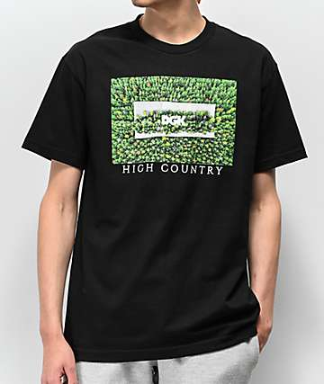 DGK High Country Black T-Shirt